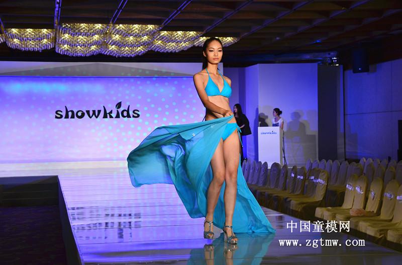 2014中国首席少儿模特大赛泳装